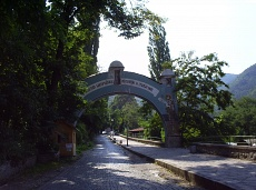 Alley to the Bachkovski monastery