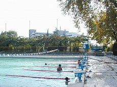 Outdoor swimming pool in Sandanski