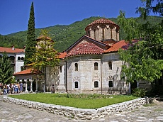The Church in the Bachkovski monastery