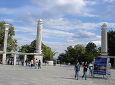 Entrance of The Sea Garden of Varna